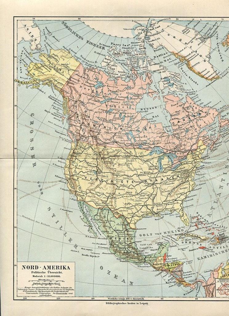 Wonderful Free Printable Vintage Maps To Download | Other | Map - Free Printable Custom Maps