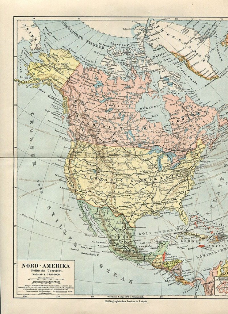 Wonderful Free Printable Vintage Maps To Download | Other | Vintage - Vintage Map Printable