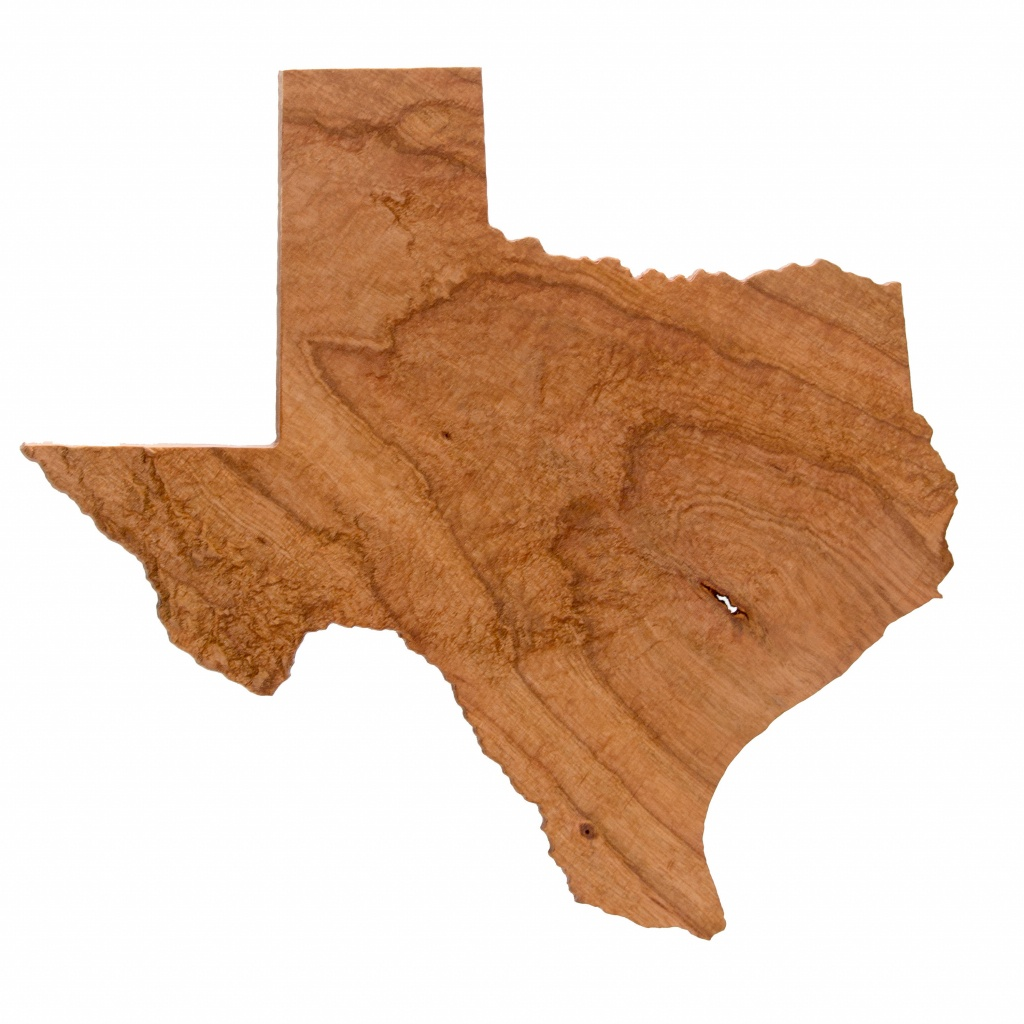 Wooden Topographic Map Of Texas, 3D Map, Wood Geographic Wall Art - 3D Topographic Map Of Texas