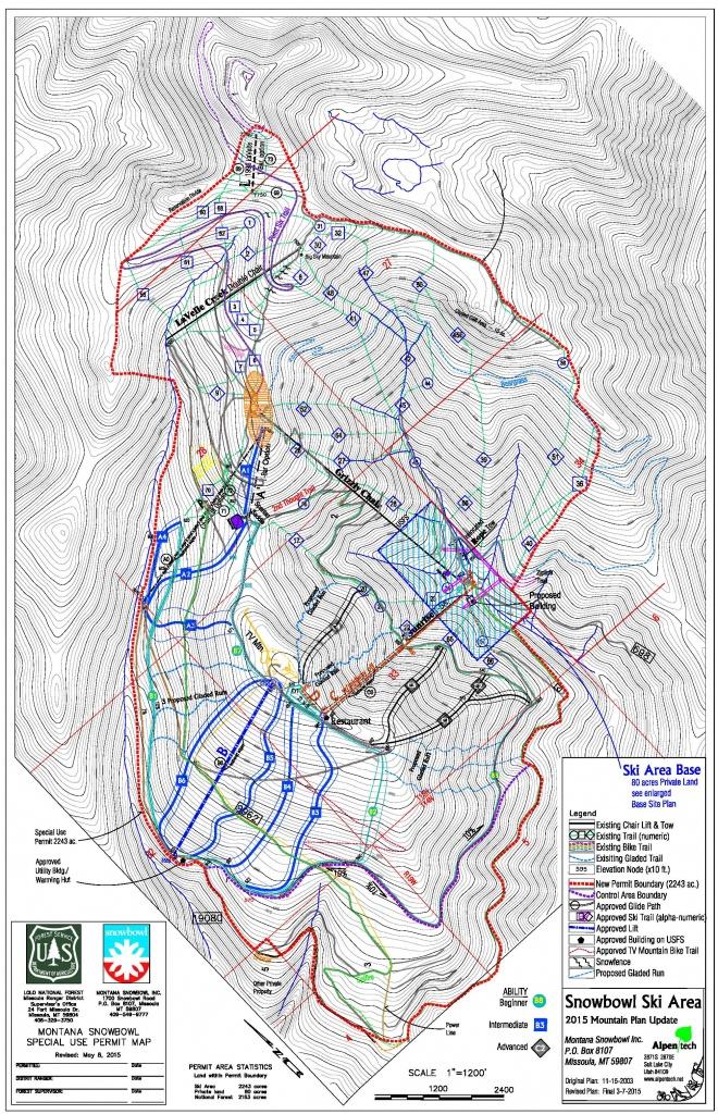 Working At Snowbowl – Snowbowl - Printable Missoula Map