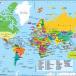 World Map, A Map Of The World With Country Name Labeled   Free Printable World Map With Country Names