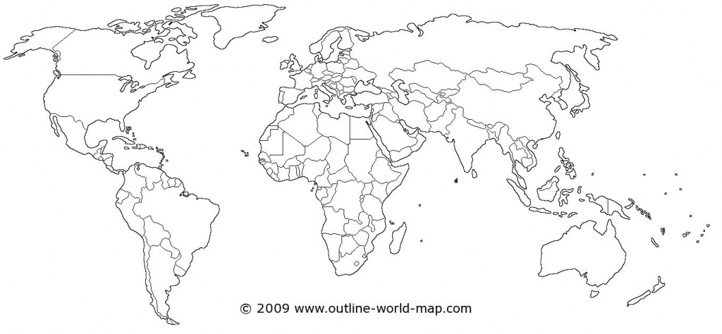 World Map | Dream House! | World Map Coloring Page, Blank World Map - World Map Outline Printable For Kids