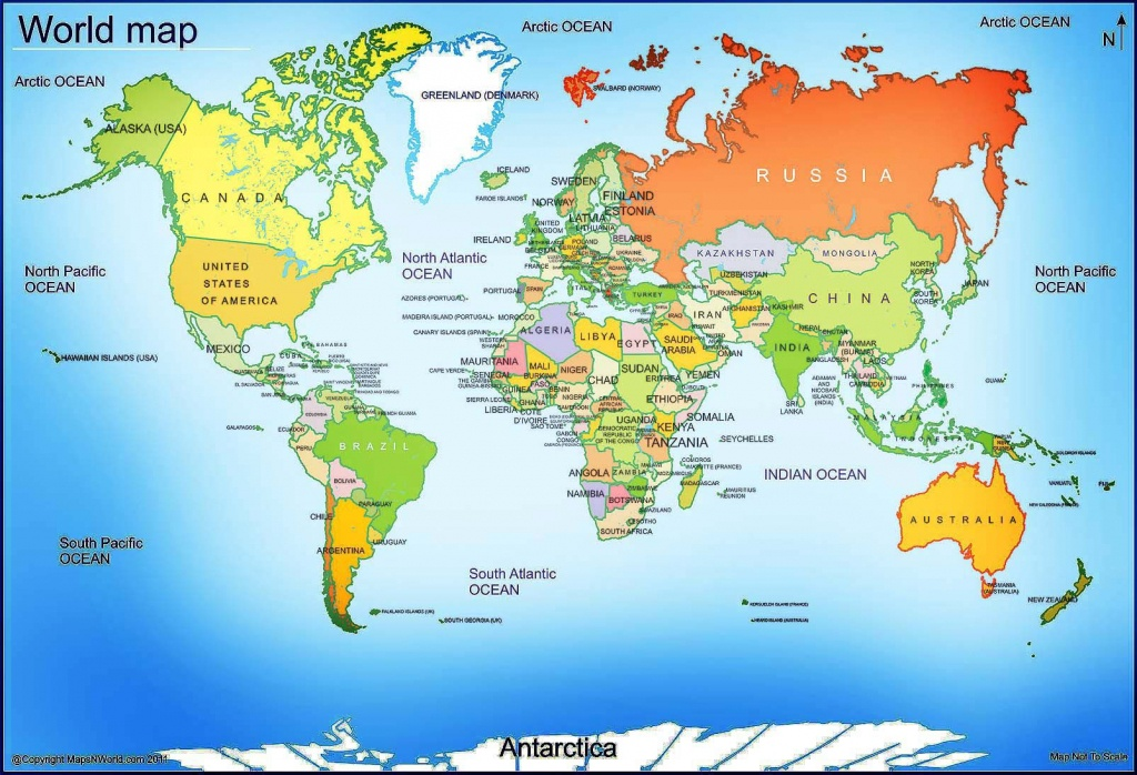 World Map - Free Large Images | Maps | World Map With Countries, Map - Large Printable World Map Labeled