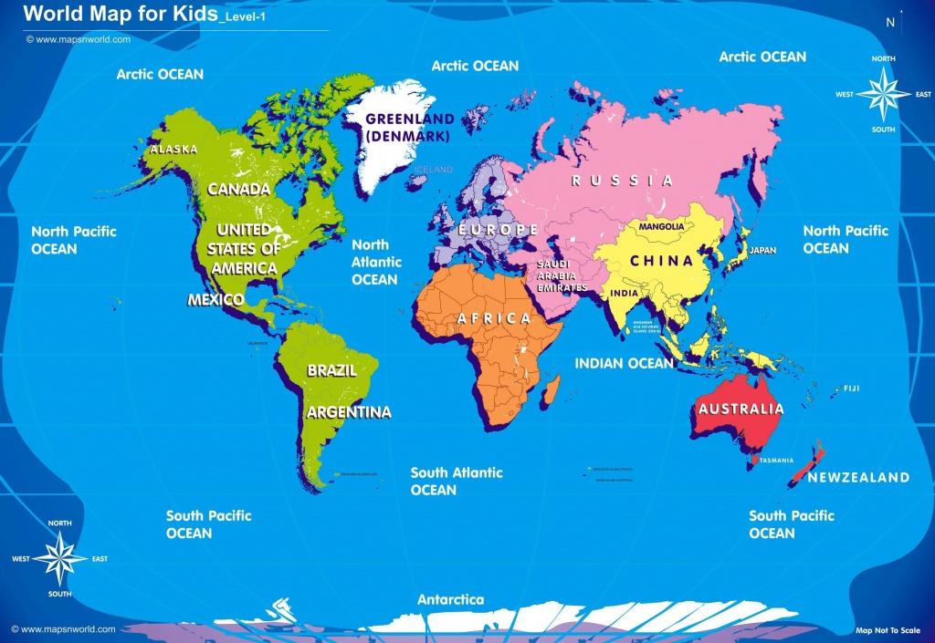 World Map Kids Printable New Maps For Besttabletfor Me Throughout - Children's Map Of The World Printable