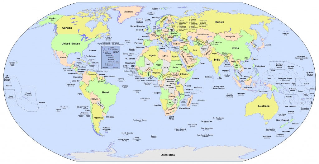 World Map Printable Maps In Different Sizes For Kids With Country - Printable World Map For Kids With Country Labels