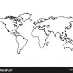 World Map Stencil Printable Best Image Of Diagram Wall At   World Map Stencil Printable
