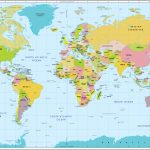 World Map With Countries And Capitals   Free Printable World Map With Country Names