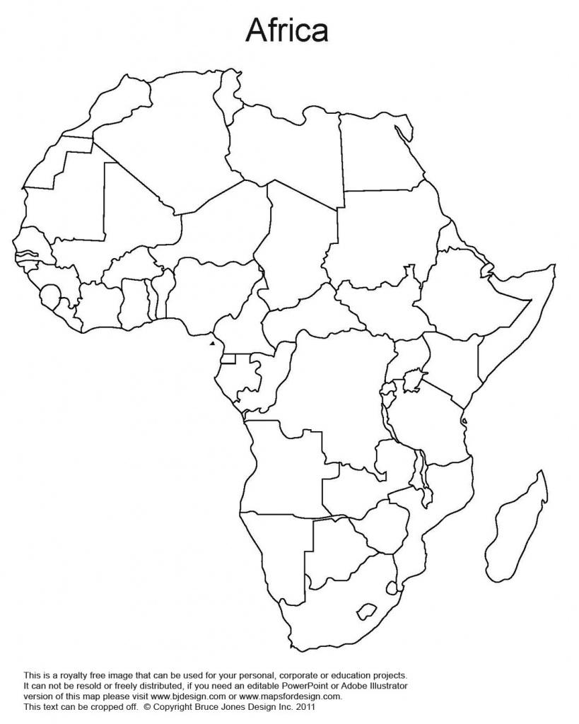 World Regional Printable, Blank Maps • Royalty Free, Jpg - Africa Map Quiz Printable