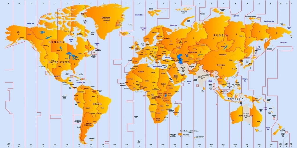 World Time Zone Map 2 8 - World Wide Maps - World Map Time Zones Printable Pdf