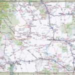 Wyoming Road Map   Printable Road Map Of Wyoming
