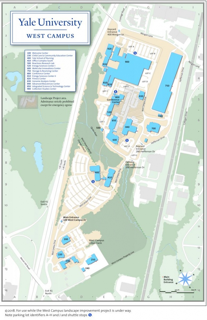 Yale Campus Map - Eymir.mouldings.co - Byu Campus Map Printable