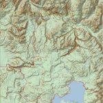 Yellowstone National Park Topo Map (Print Version) | Yellowstone Maps   Printable Topo Maps