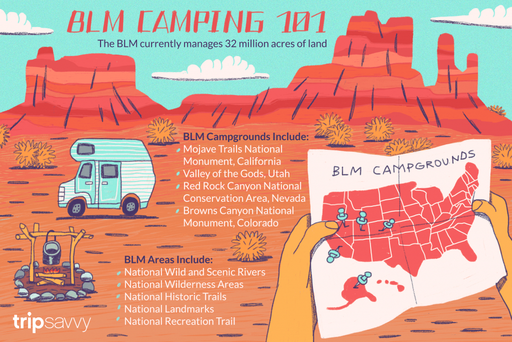 Your Guide To Blm Camping And Recreation - Blm Land Florida Map