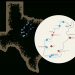 Your Guide To Texas' Historic Forts Trail   Texas Forts Trail Map