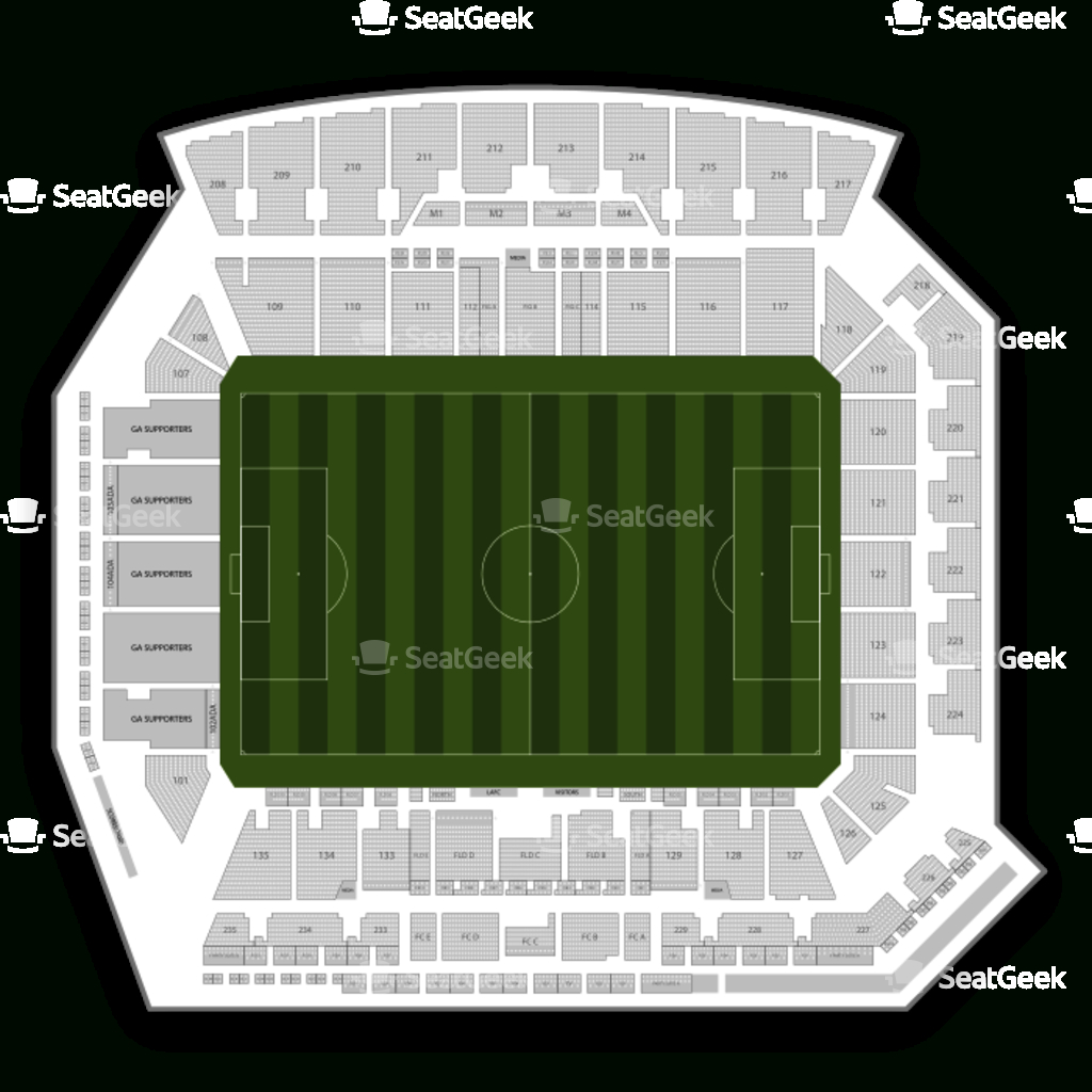 Your Ticket To Sports, Concerts & More | Seatgeek - Banc Of California Stadium Map