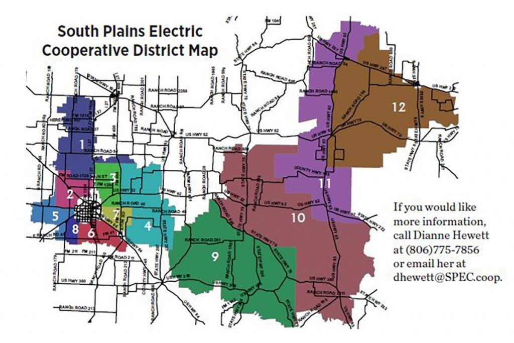 Your Vote. Your Voice. Your Cooperative. - Texas Co-Op Power - Texas Electric Cooperatives Map