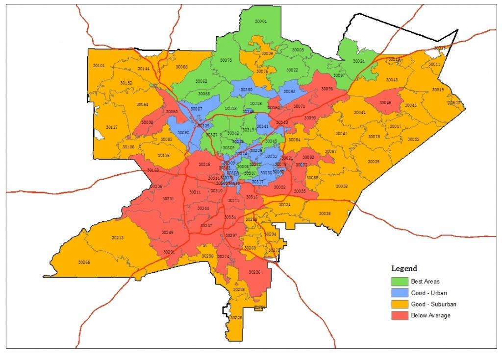 Zip Code Map Atlanta ~ Afp Cv - Atlanta Zip Code Map Printable