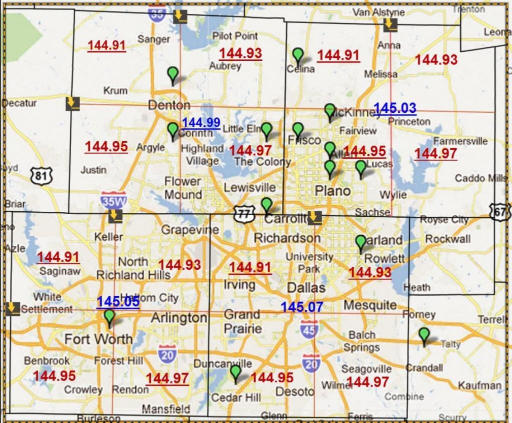 Zip Code Map Dallas - Dallas Texas Zip Code Map (Texas - Usa) - Dallas Zip Code Map Printable