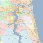 Zip Code Map Jacksonville Florida | Jacksonville Zip Codes - Florida Zip Code Map
