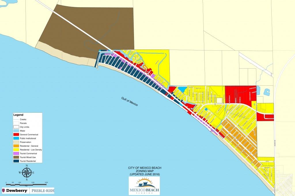 Zoning Maps   98 Real Estate Group - Street Map Panama City Florida