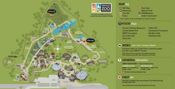 Zoos In Florida Map